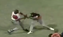 Cuban Baseball Brawl Escalates Quickly When One Player Starts Swinging His Bat at Heads (Video)