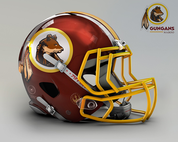 Naboo Gungans –  Washington Redskins