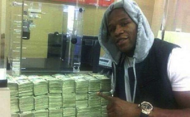 floyd mayweather money