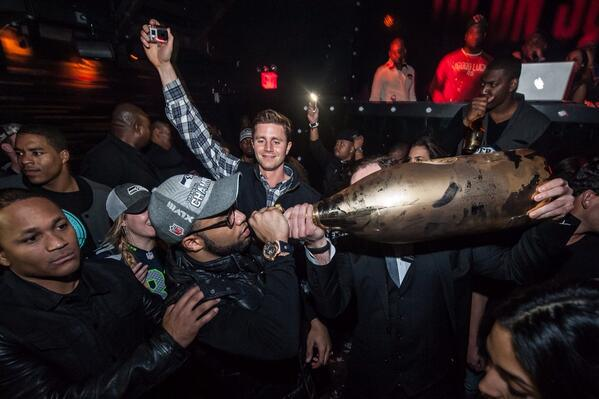 golden tate ace of spades champagne