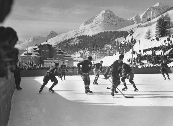 ice hockey 1948 winter olympics