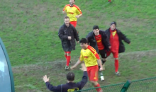 Italian Amateur Soccer Player Gives Us the Most Insane Goal Celebration of the Year (Video)