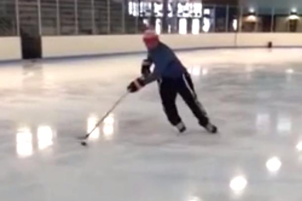 j.j. watt playing hockey