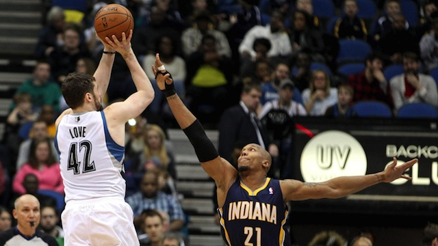 kevin love vs. pacers