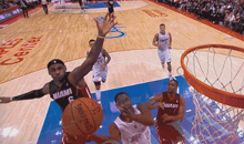 LeBron James Reminds Us that He Is Not Actually Human with this Block on Darren Collison (GIF)