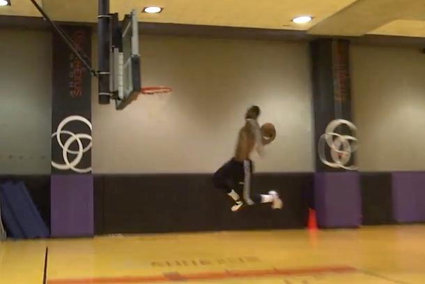 lebron dunk contest