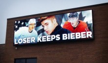 2014 Sochi Olympics: Loser Gets Bieber? Now THAT'S Motivation (Pic)