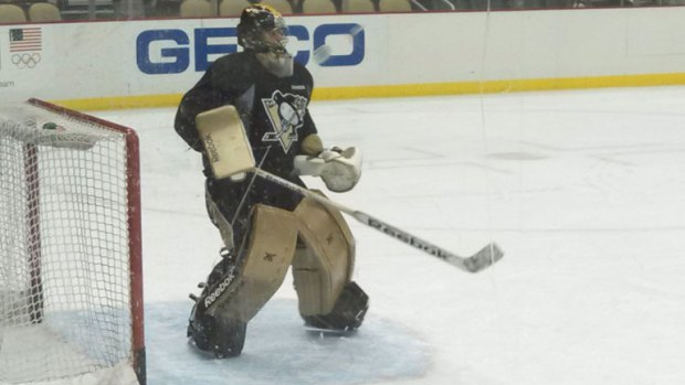 marc-andre fleury gold pads 2