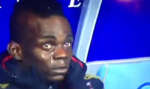 Was Mario Balotelli Crying on the AC Milan Bench Because of Racist Chants? (Videos)