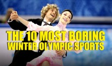 10 Most Boring Winter Olympic Sports