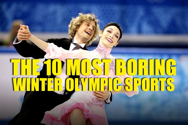 most boring sports at winter olympics