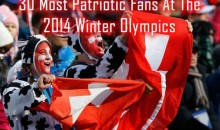 30 Most Patriotic Fans At The 2014 Winter Olympics