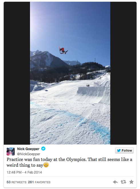 nick goepper - 2014 winter olympic athletes to follow