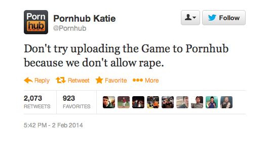 pornhub super bowl xlviii tweet