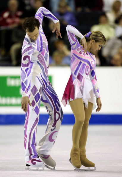 Marina Aganina and Artem Knyazev