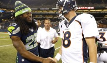 Richard Sherman Defends Peyton Manning's Legacy After Super Bowl XLVIII (Video)