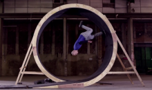 Watch this Stuntman Do the World's First Running Loop-the-Loop (Video)