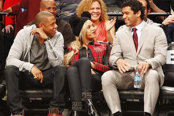 russell wilson beyonce jay-z