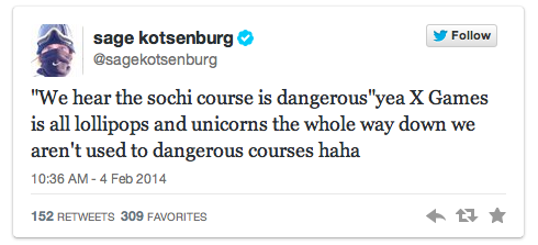 sage kotsenburg - 2014 winter olympic athletes to follow