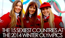 The 15 Hottest Countries at the 2014 Sochi Winter Olympics