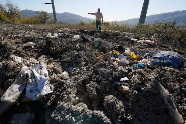 Russia Sochi Waste