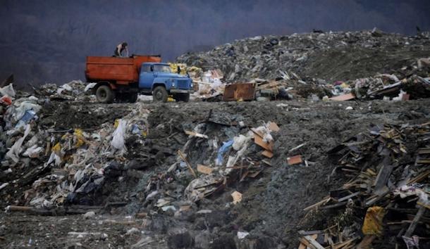 sochi garbage dump
