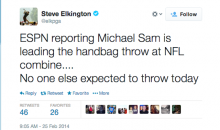 Golfer Steve Elkington Makes Gay Joke About Michael Sam on Twitter