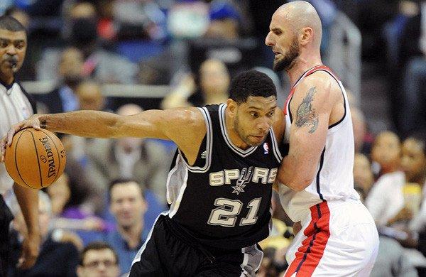 Spurs v Wizards