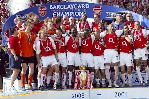 10 2003-04 Arsenal football soccer - best undefeated teams of all-time
