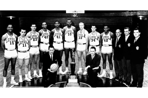 11 1963 loyola basketball team