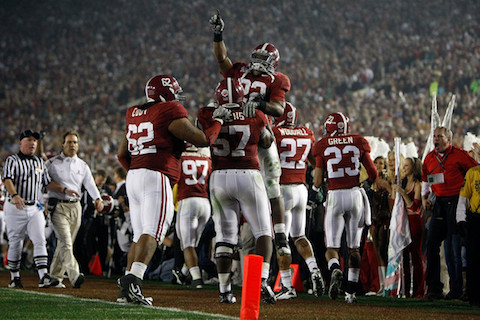 11 2009 Alabama Crimson Tide football - best undefeated teams of all-time