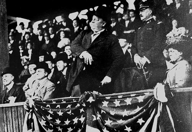 11 william howard taft first pitch 1910 - mlb opening day memorable moments