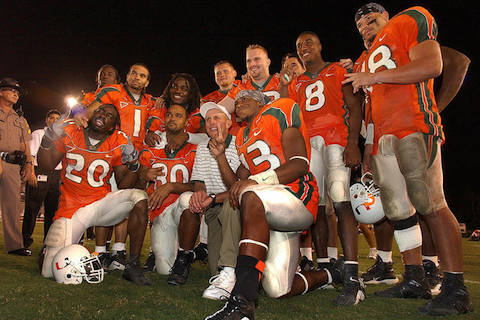 12-2001-Miami-Hurricanes-football-best-undefeated-teams-of-all-time