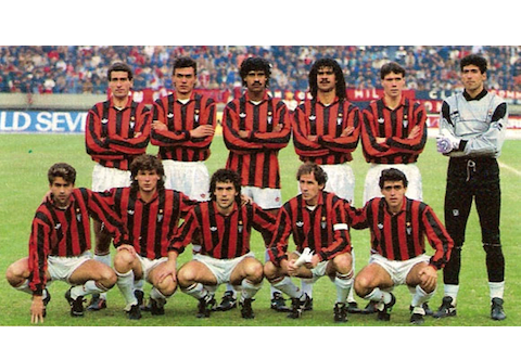 14 1991-92 ac milan best undefeated teams all-time