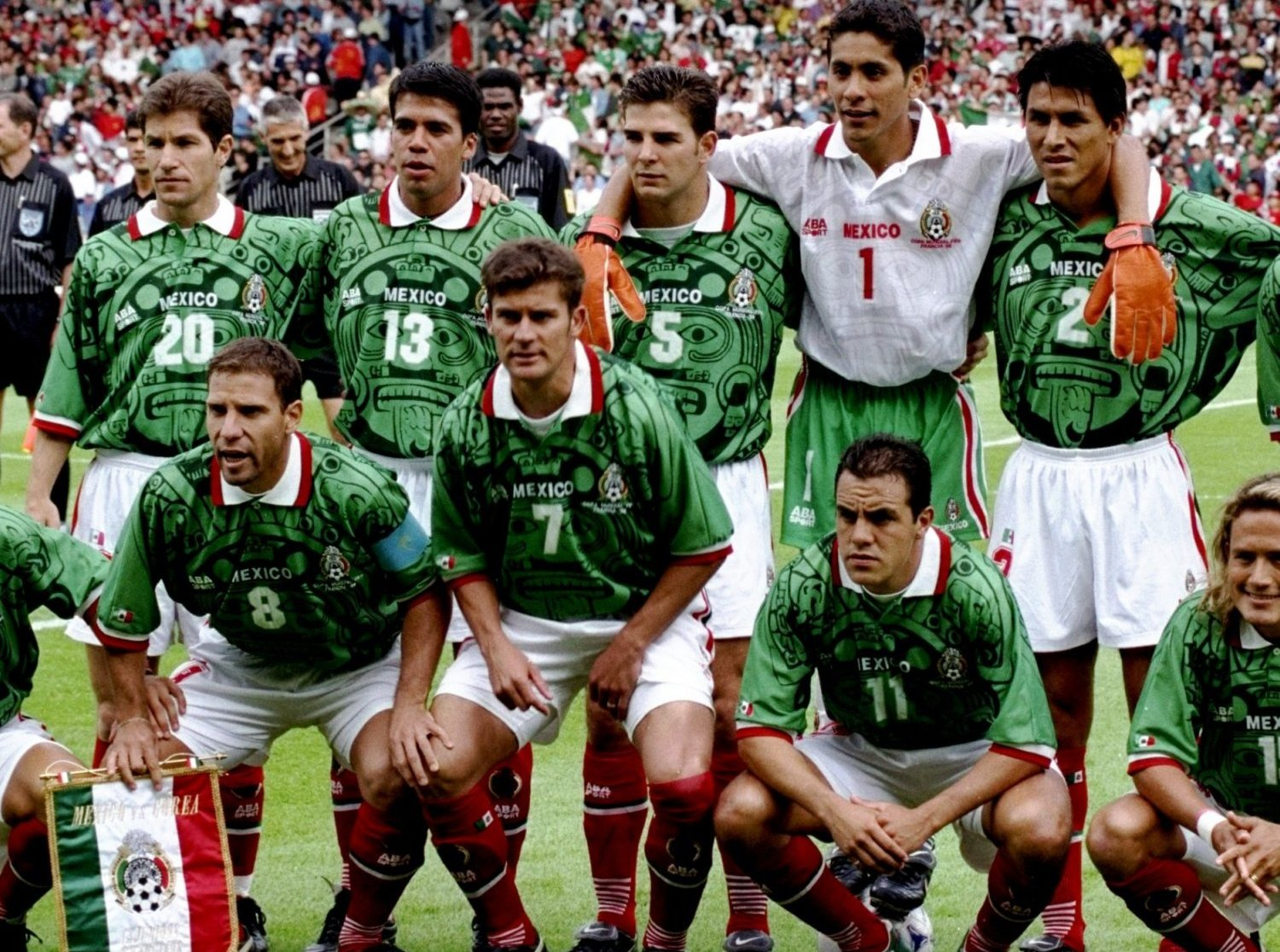 4cb7ef0fd 18 mexico 1998 jersey - worst soccer uniforms all time - worst football  kits all time