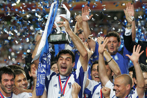 2 2004 greek soccer team european champions