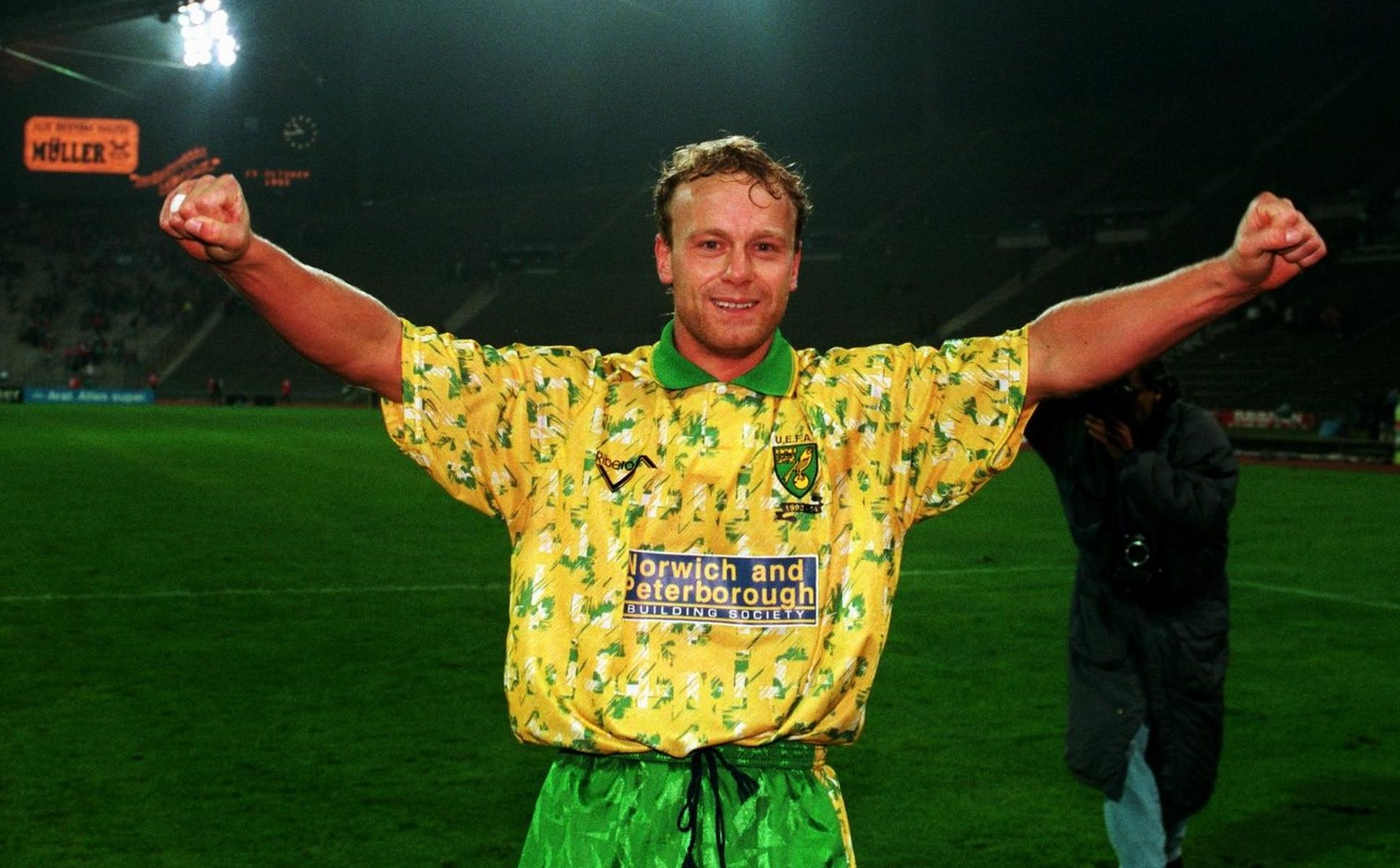 e99171e31e5 24 Norwich City 1992-93 - worst soccer uniforms all time - worst football  kits