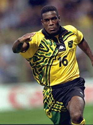 29 jamaica 1998 kit - worst soccer uniforms all time - worst football kits all time