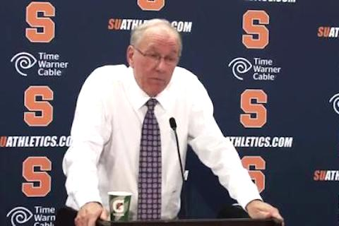 3 jim boeheim syracuse - biggest ncaa tournament snubs all time
