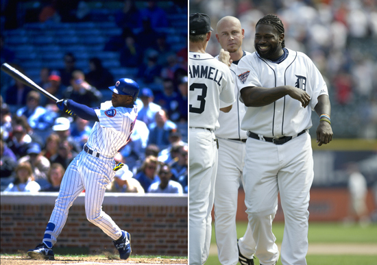 3 tuffy rhodes and dmitri young - MLB opening day memorable moments