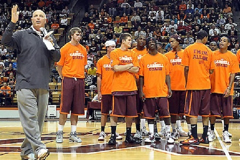 4 virginia tech hokies basketball - biggest ncaa tournament snubs all time