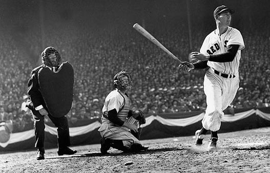 5 ted williams opening day 1947 - MLB opening day memorable moments