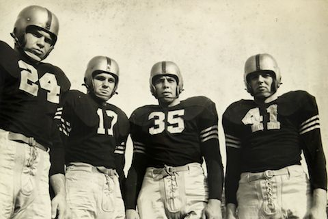 7 1945 Army Black Knights footbal - best undefeated teams of all-time