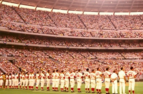 7 cincinnati reds opening day - MLB opening day memorable moments