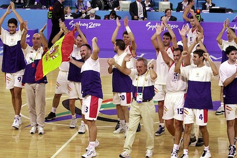 8 2000 spanish paralympic basketball team