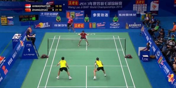 Badminton Rally Video