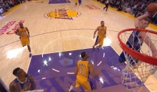 This Blake Griffin Dunk Sums Up the Clippers' Colossal Beatdown of the Lakers Last Night (Video)