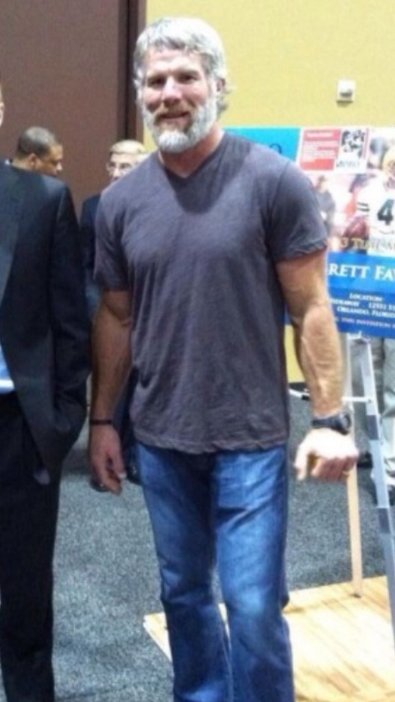 Brett Favre Jacked Beard
