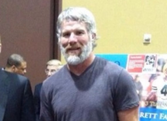 total pro sports brett favre has a beard and is jacked photo