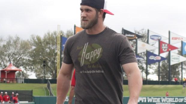 Bryce Harper jacked